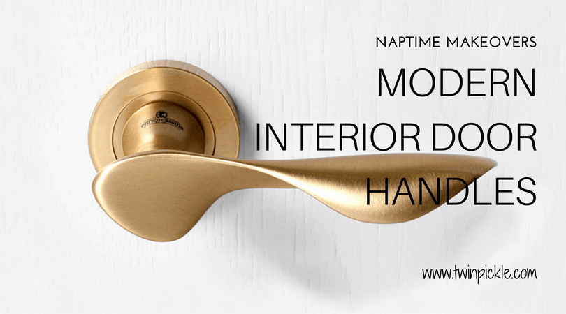 Modern Interior Door Handles: Naptime Makeover - Twin Pickle